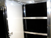 Kahne Racing T&E 53' Semi Sprint Trailer - Interior View - Storage Cabinet with Shelving